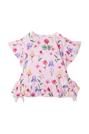 Monnalisa kids pink floral t-shirt Monnalisa kids | 8 | 99790070830090