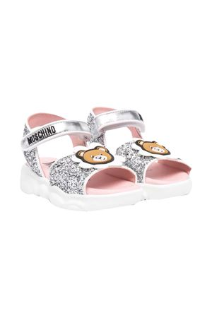 Sandals with Teddy Bear Moschino kids application MOSCHINO KIDS | 5032315 | 673573