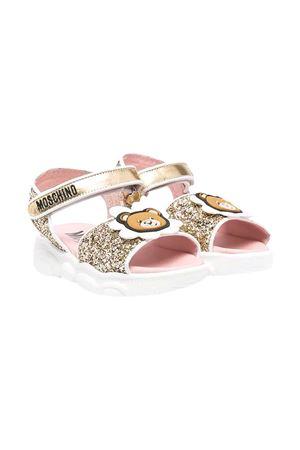 Sandali con paillettes Moschino kids.  MOSCHINO KIDS | 5032315 | 67357VAR2