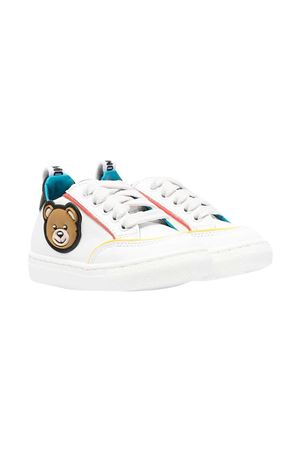 Sneakers bianche Moschino Kids MOSCHINO KIDS | 12 | 67394VAR2