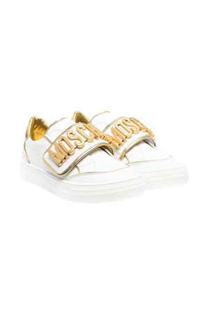 Sneakers bianche teen Moschino Kids MOSCHINO KIDS | 12 | 674991T