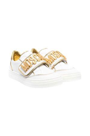 Moschino Kids teen white sneakers MOSCHINO KIDS | 12 | 674991T