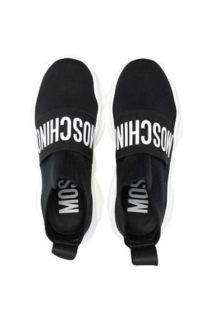 Sneakers alte nere Moschino Kids MOSCHINO KIDS | 12 | 675203