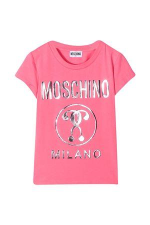 Moschino Kids teen pink t-shirt  MOSCHINO KIDS | 8 | H1M020LBA1051108T