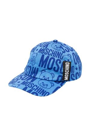 Cappello teen con stampa toy Moschino kids MOSCHINO KIDS | 75988881 | H8X001L0B0285556T