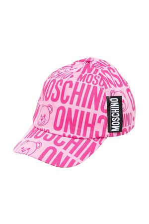 Cappello teen con stampa toy Moschino kids MOSCHINO KIDS | 75988881 | H8X001L0B0285557T