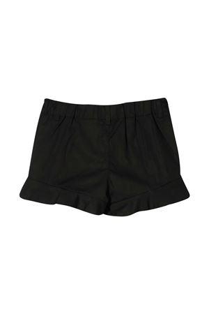 Shorts neri con logo Moschino kids MOSCHINO KIDS   30   HAQ001LMA0160100