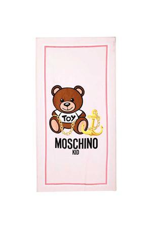 Beach towel with Moschino kids print MOSCHINO KIDS   616841551   HAX00WLGA1050209