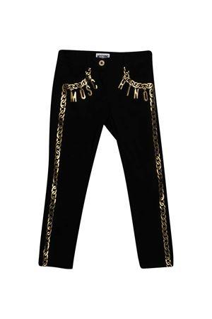 Jeans with Moschino kids print MOSCHINO KIDS   9   HCP005LRA0660100