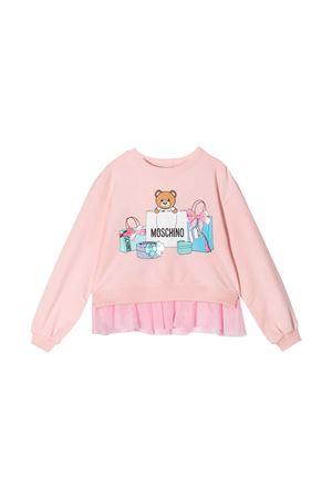 Felpa rosa Moschino Kids MOSCHINO KIDS   1169408113   HDF02YLDA0050209