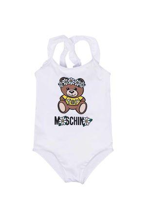 Moschino Kids white one-piece swimsuit MOSCHINO KIDS   85   HDL00GLKA0010101