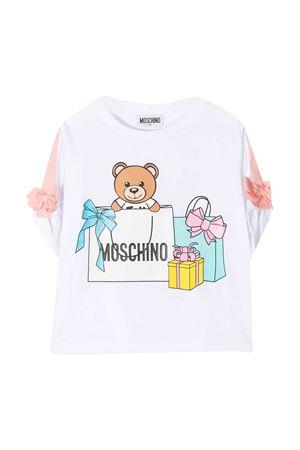 Moschino Kids Teddy Bear teen t-shirt MOSCHINO KIDS | 8 | HDM030LBA0010101T