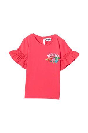 T-shirt rosa Moschino Kids MOSCHINO KIDS | 8 | HDM03TLBA1050218