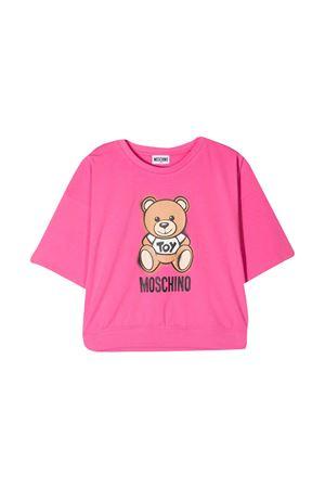 Moschino Kids pink t-shirt  MOSCHINO KIDS | 8 | HDM03XLBA1850533