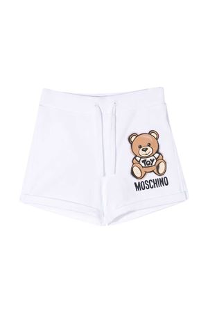 White shorts teen Moschino Kids  MOSCHINO KIDS | 30 | HDQ007LDA1310101T