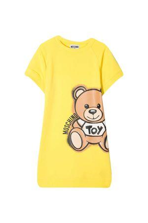 Yellow teen dress Moschino kids  MOSCHINO KIDS | 11 | HDV09YLDA1350162T