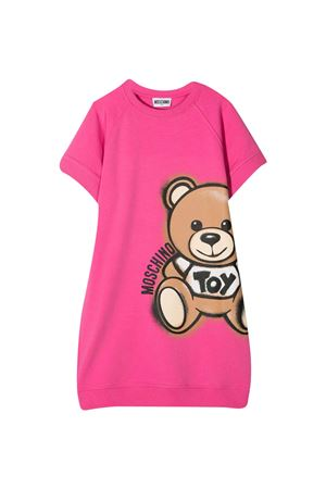 Pink teen Moschino kids dress  MOSCHINO KIDS | 11 | HDV09YLDA1350533T