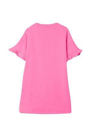 Abito teen rosa con applicazioni multicolor Moschino kids MOSCHINO KIDS | 11 | HDV0A1LDA2550533T