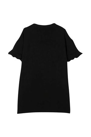 Abito nero con applicazioni multicolor Moschino kids MOSCHINO KIDS | 11 | HDV0A1LDA2560100