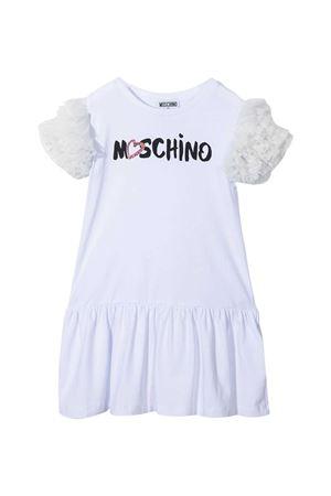 Abito bianco Moschino Kids MOSCHINO KIDS | 11 | HDV0A8LBA0010101