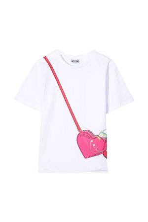 T-shirt bianca Moschino Kids MOSCHINO KIDS | 5032307 | HGM02TLBA1010101