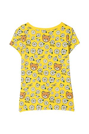 T-shirt gialla Moschino Kids MOSCHINO KIDS | 8 | HJM02OLBB5782163