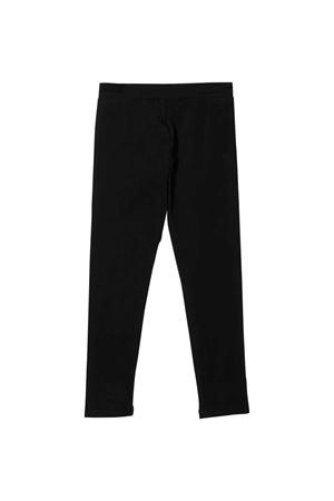 Pantaloni neri Moschino Kids MOSCHINO KIDS   9   HJP03ULBA1060100