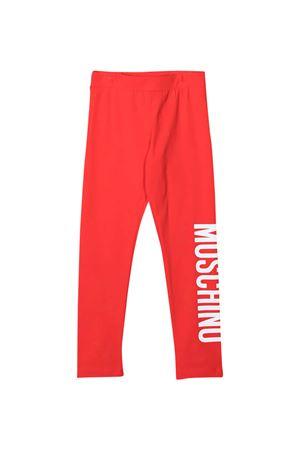 Leggins rossi Moschino Kids MOSCHINO KIDS   411469946   HLP03ULBA0050109