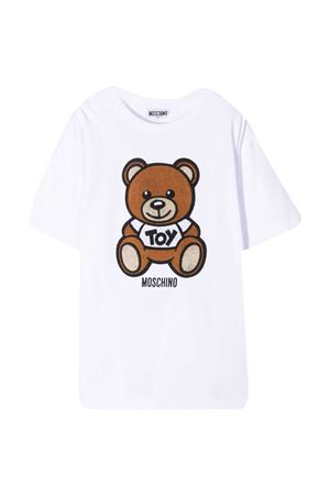 T-shirt bianca teen Moschino kids MOSCHINO KIDS | 5032307 | HOM02XLBA1010101T
