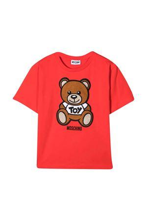 T-shirt rossa Moschino kids MOSCHINO KIDS | 5032307 | HOM02XLBA1050109
