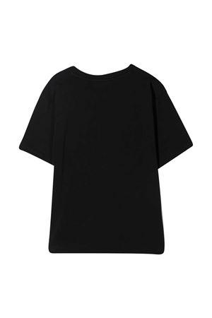 Moschino kids black teen t-shirt  MOSCHINO KIDS | 5032307 | HOM02XLBA1060100T