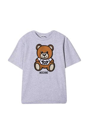 T-shirt grigia teen Moschino kids MOSCHINO KIDS | 5032307 | HOM02XLBA1060926T