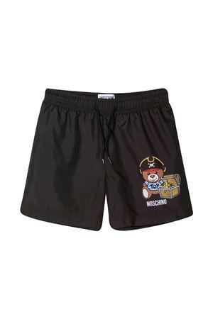 Swimsuit with Moschino kids print MOSCHINO KIDS | 85 | HPL010LKA0260100