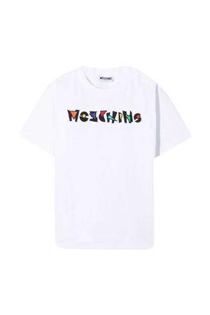 T-shirt bianca Moschino kids MOSCHINO KIDS | 5032307 | HQM02LLBA1810101