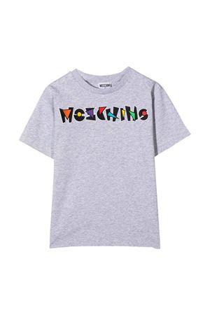T-shirt grigia Moschino Kids MOSCHINO KIDS | 5032307 | HQM02LLBA1860926