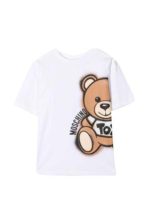 T-shirt bianca teen Moschino kids MOSCHINO KIDS | 5032307 | HQM02XLBA1810101T
