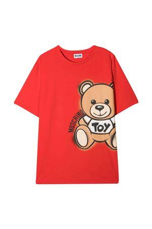 Red t-shirt Moschino kids  MOSCHINO KIDS | 5032307 | HQM02XLBA1850109