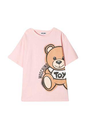 Pink Moschino kids t-shirt  MOSCHINO KIDS | 5032307 | HQM02XLBA1850209