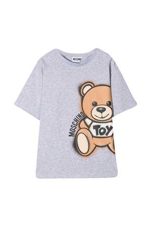 T-shirt grigio teen Moschino kids MOSCHINO KIDS | 5032307 | HQM02XLBA1860926T
