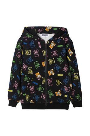 Moschino Kids black sweatshirt  MOSCHINO KIDS | -108764232 | HUF04KLDB4883238