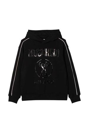 Black Moschino Kids sweatshirt  MOSCHINO KIDS | 5032280 | HUF04PLDA2560100