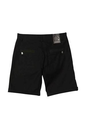 Moschino Kids black bermuda shorts  MOSCHINO KIDS | 30 | HUQ00OLPA0260100