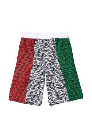Shorts tricolore Moschino Kids MOSCHINO KIDS | 30 | HUQ00PLDA2583311