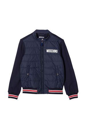 Moschino Kids blue bomber jacket  MOSCHINO KIDS | 13 | HUS02MLCA2240016