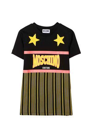 Moschino Kids black t-shirt  MOSCHINO KIDS | 8 | HVM02QLAA1860100