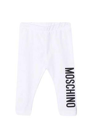 Leggins bianchi Moschino Kids MOSCHINO KIDS | 411469946 | M2P02BLBA0010101