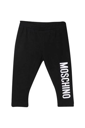 Leggins neri Moschino Kids MOSCHINO KIDS | 411469946 | M2P02BLBA0060100