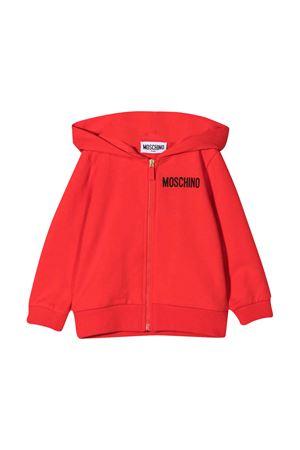 Red Moschino Kids sweatshirt  MOSCHINO KIDS | 5032280 | M5F00QLDA1250109