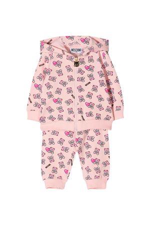 Tuta rosa Moschino Kids felpe+pantaloni MOSCHINO KIDS | 42 | M5K00GLDB5083343