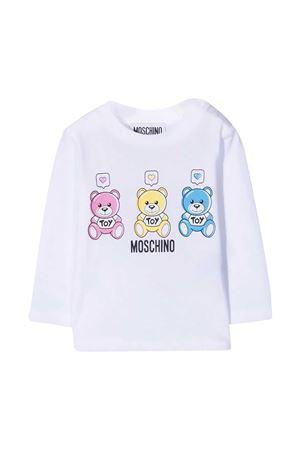 Maglia bianca Moschino Kids MOSCHINO KIDS | 8 | M70000LAA0310101